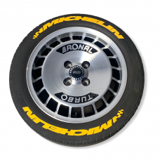 "8 x MICHELIN in Yellow 0,75""(1,9cm)"